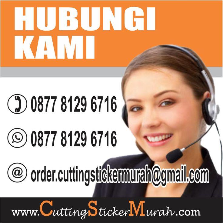 Pusat Tempat Jasa Percetakan Cutting Sticker Murah Online Jakarta, Bekasi, Tangerang, Depok, CS: 087781296716. http://www.cuttingstickermurah.com/cetak-cutting-sticker-murah-di-bekasi/