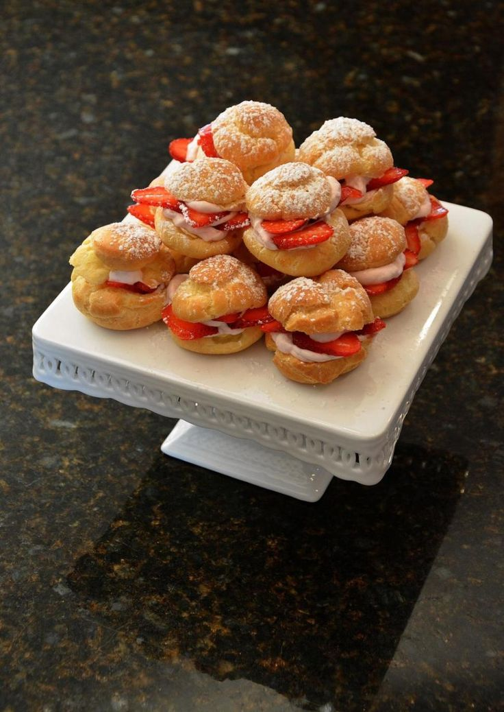 "kathy wakile nydailynews | Kathy Wakile's Strawberry Shortcake Puffs, from her cookbook, ""Indule ..."