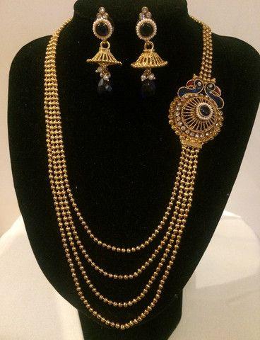 Indian ethnic Jewellery Necklace Set Shop on www.bonyhub.com