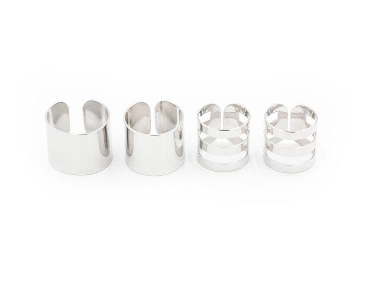 Набор из 4 колец на фаланги пальцев