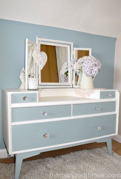 s 30 jaw dropping furniture flips you have to see to believe, painted furniture, Hunk of Wood Defines Her Lines