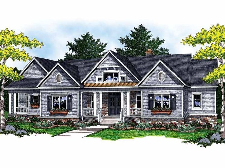 Ranch house plan with 2551 square feet and 2 bedrooms from dream home source house plan code - Dream homes house plans plan ...