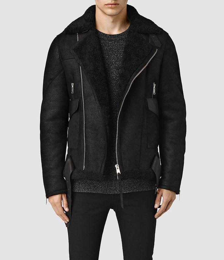 Men's Takoma Shearling Jacket (Black) -