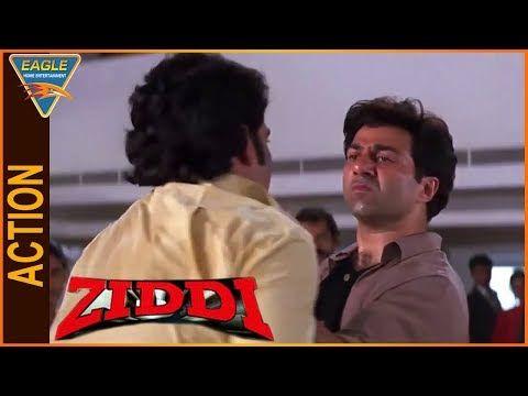 Ziddi Hindi Movie || Sunny Deol Superb Action Scene || Eagle Hindi Movies