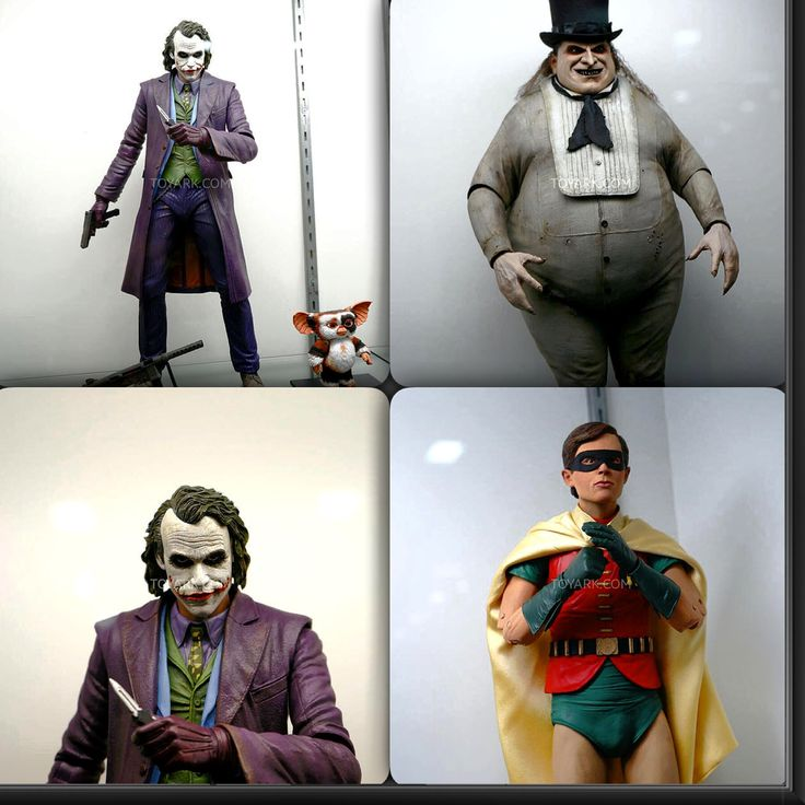 A major, and awesome, surprise coming from NECA. They have revealed an all new Quarter Scale Batman Return Danny DeVito Penguin. Also on display at San Diego Comic-Con 2014 was their Dark Knight Joker, Classic Robin, and Halo Master Chief. Check out all pictures on www.bandteesandpopculture.com #SDCC2014 #SDCC #ComicCon #Neca #TheJoker #Robin #Halo #Penguin