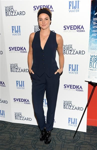 "Shailene Woodley attends a special screening of ""White Bird In A Blizzard"" at the Landmark Sunshine Theater in New York on Oct. 15, 2014."
