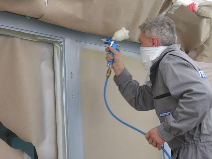 Lakování hliníkových profilů dveří a oken, #oprava, #lakování, #dveře, #zárubně, #obložky, #repair, #Instandsetzung, #Reparatur, #okno, #aluminium, #elox, #hliník