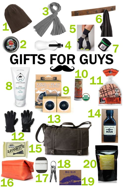20 Great Green Gifts Guys Will Love! #eco #green #organic #natural ...