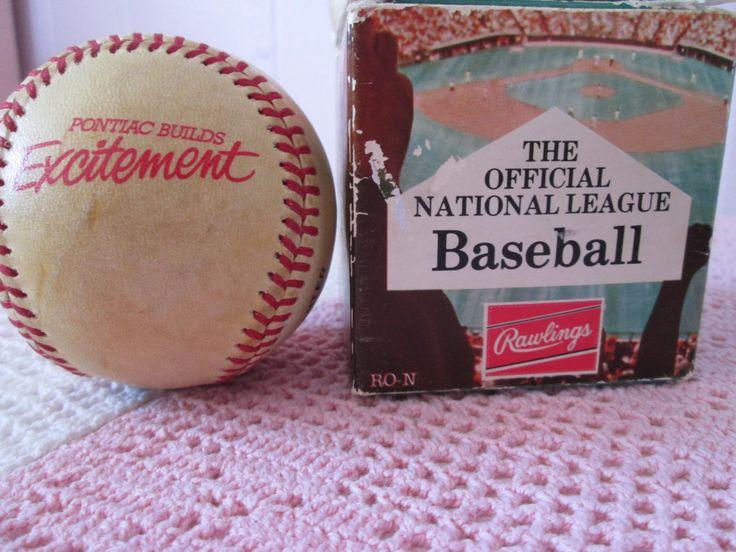 Balle de Baseball  pour Fever Pontiac de la boutique Roselynn55 sur Etsy