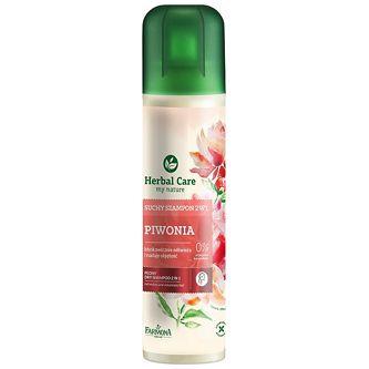 FARMONA Herbal Care, Suchy szampon 2w1 Piwonia, 180 ml Odświeża • Pochłania nadmiar sebum • Przywraca lekkość • Nadaje objętość