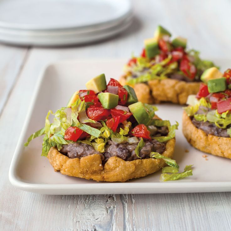 If you're short on time when making these vegetarian black bean sopes, use purchased refried black beans and jarred salsa instead of making your own.