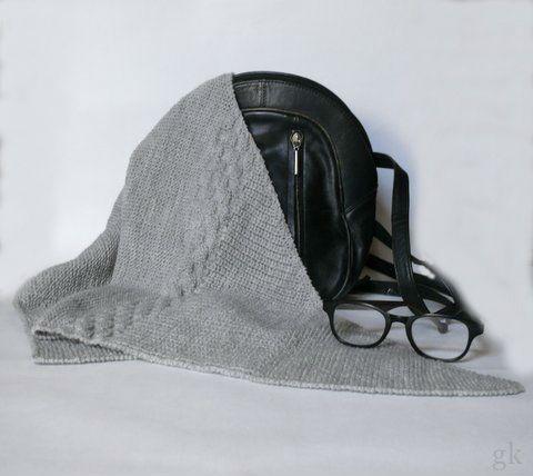 gk kreativ: Anleitung :  Dreiecktuch stricken