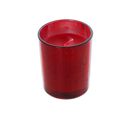 Ароматическая свеча в стекле Ванильное печенье 9388-6