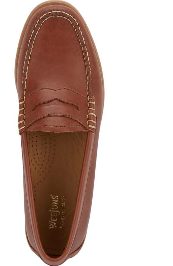 d4c0690c518 gh bass whitney weejuns- cordovan Leather Loafer Shoes