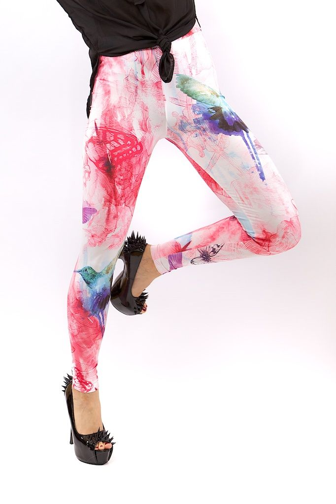 COLIBER LEGGINGS FOR WOMEN – MOLEECO CLOTHING Perfectly printed leggings with the unique moleeco motives They really fit great!  Composition: 82% Polyester / 18% Spandex Garment Care: Washing Machine :) Print placement may vary. Handling Time: up to 8 working days