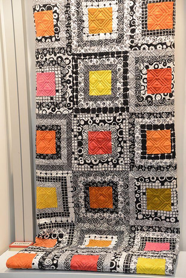 cuadrados color y blanco/negro