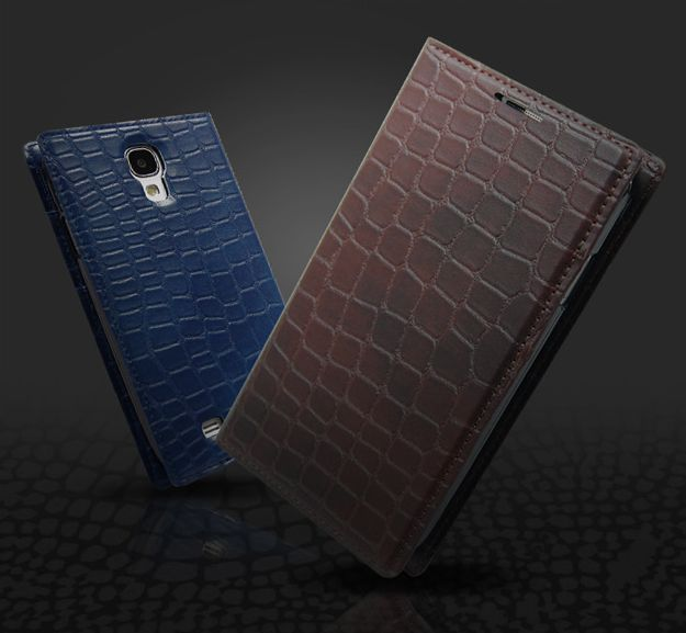 Gavialis Fashionable Crocodile Flip Diary Case for Galaxy Note 3 Neo