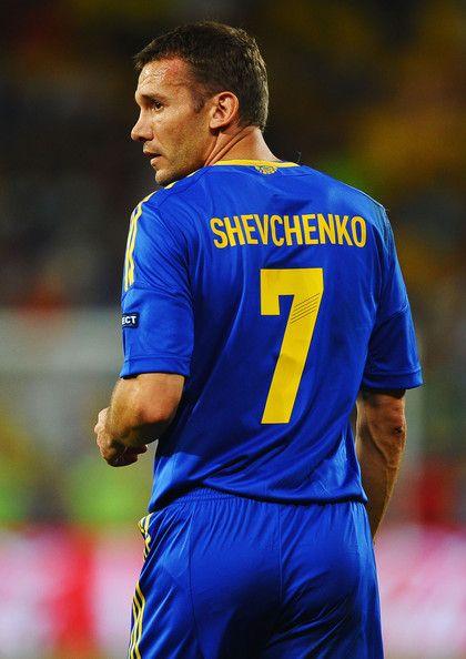 Andrey Shevchenko of Ukraine.