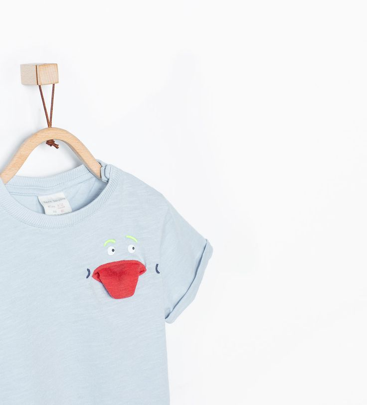 d4555209896 Εικόνα 1 του Μπλούζα με στάμπα χαμόγελο από Zara | Zara | Shirts for ...