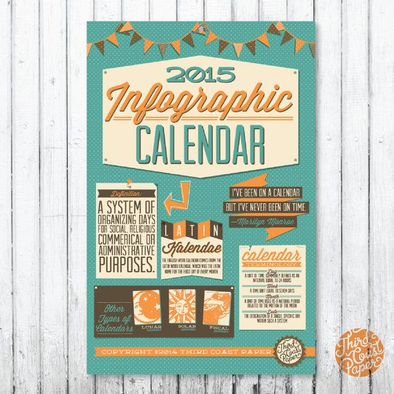 1000+ images about 2015 Infographic Wall Calendar on Pinterest ...