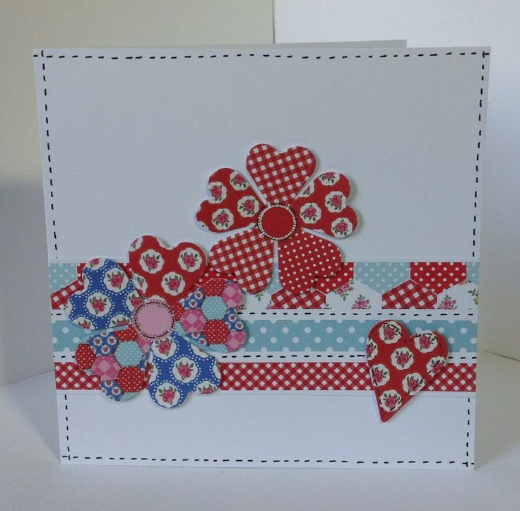 Card designed by Georgina Ford using our Paper Artistry kit. Double sided Kitsch papers, Kitsch die cuts and doubled sided Candi.