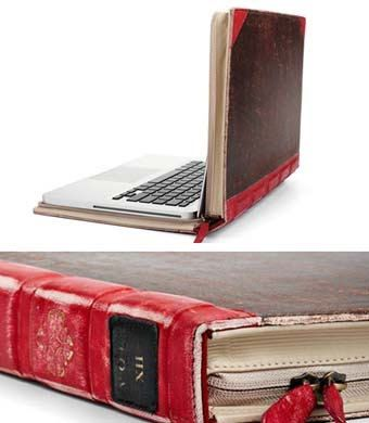 Case for MacBook Air - Old book - Nice gadget