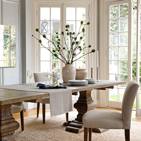 Hermitage Dining Table Rectangular Williams Sonoma