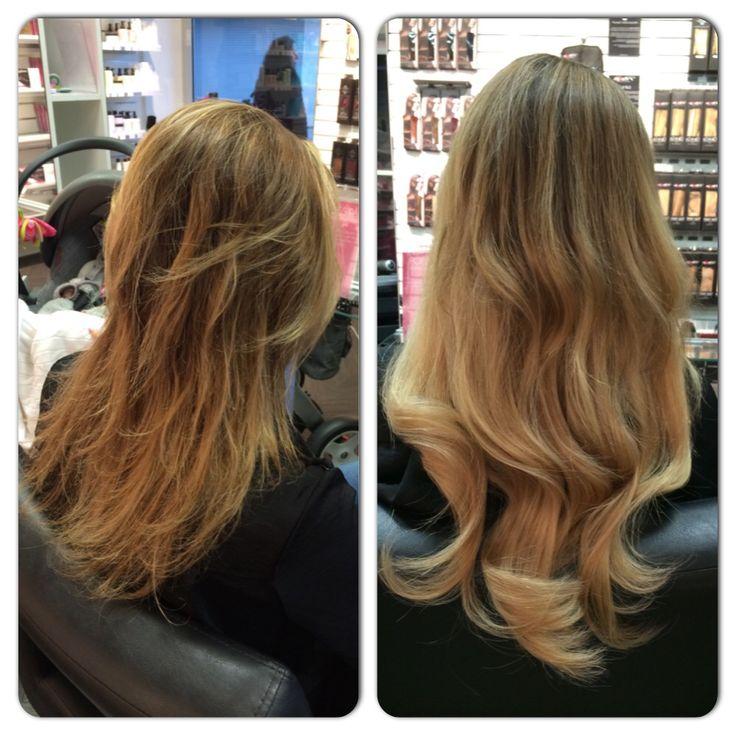Here is a magical transformation with Poze Hair Extensions. Amazing results in no time. Magiskt resultat med Poze hårförlängning! Beställ ditt löshår från www.pozehair.se och upplev skillnaden du också.