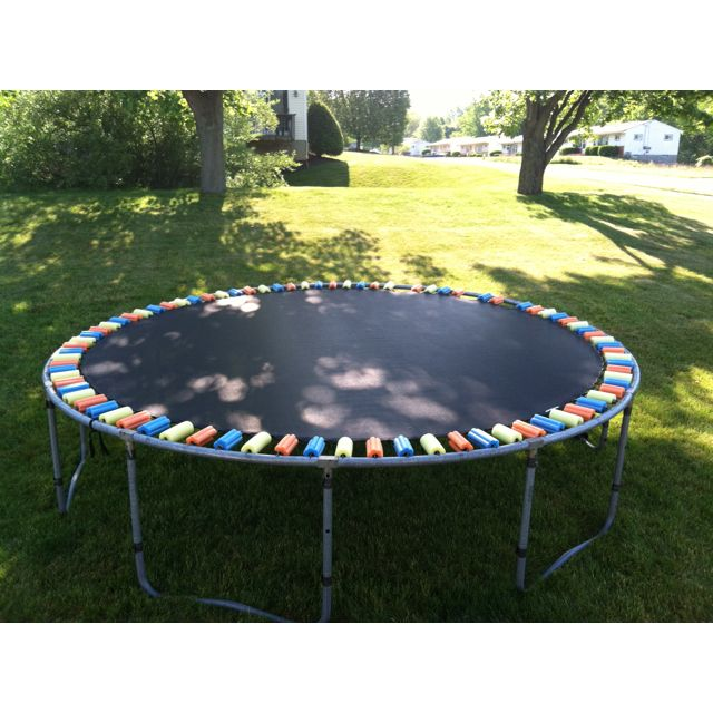 25 Best Ideas About Trampoline Spring Cover On Pinterest: Creating Fun Play Areas For Kids