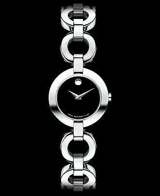 Movado Watch, Women's Swiss Stainless Steel Bracelet