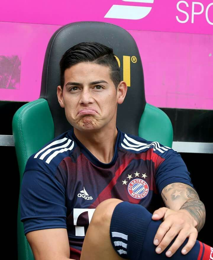 lovely face  - james rodriguez
