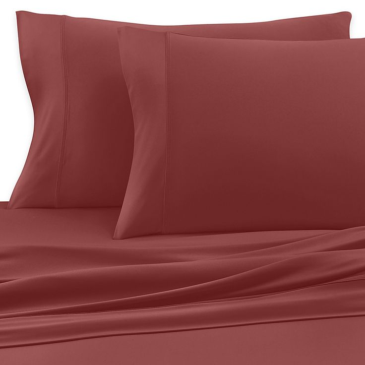 Sheex Luxury Copper Performance Standard Pillowcases In Rust Set Of 2 King Sheet Sets King Sheets Sheet Sets