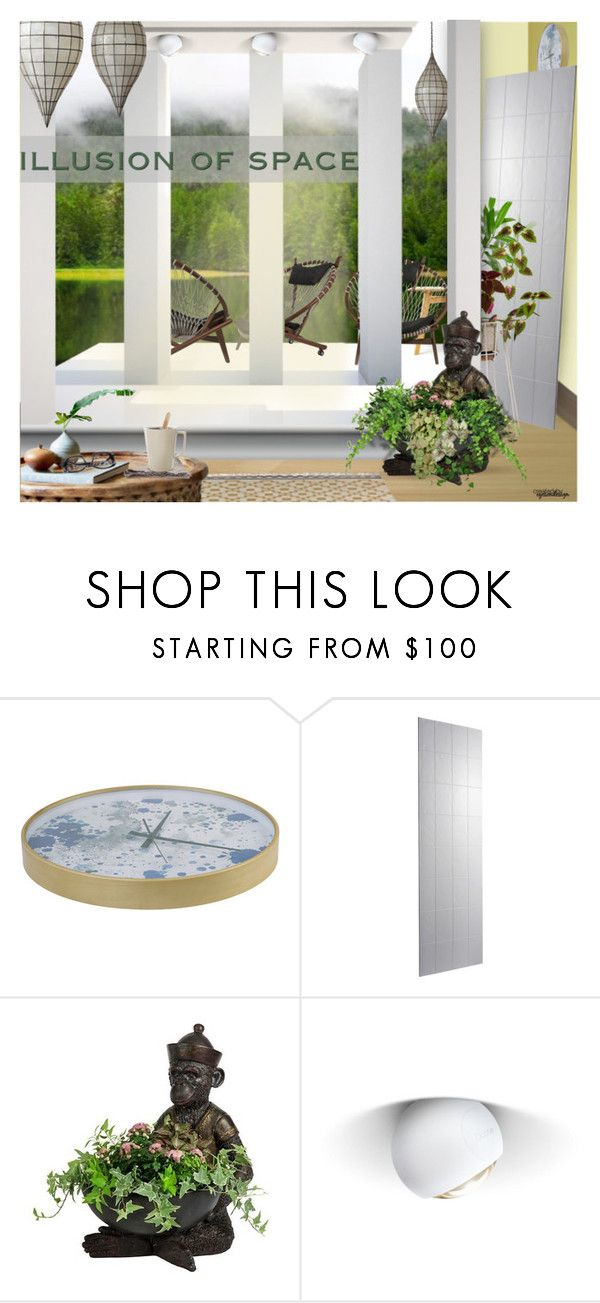"""Colour Illusion of Space"" by eyesondesign ❤ liked on Polyvore featuring interior, interiors, interior design, home, home decor, interior decorating and eyesondesigninteriors"