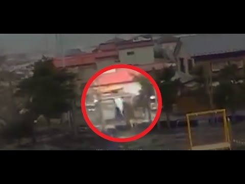▶ During Japan Tsunami a strange creature was caught on camera - real footage - YouTube