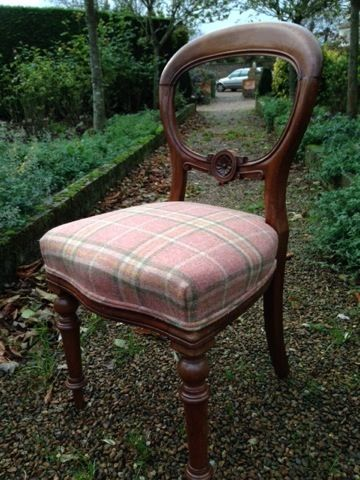 Late Victorian Balloon Back Dining Chair