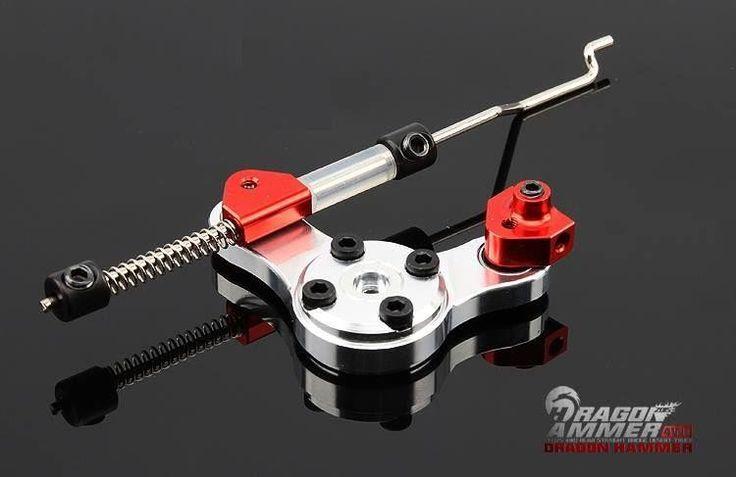 F.I.D Dragon Hammer FULL Throttle/Brake Linkage Set up - SILVER