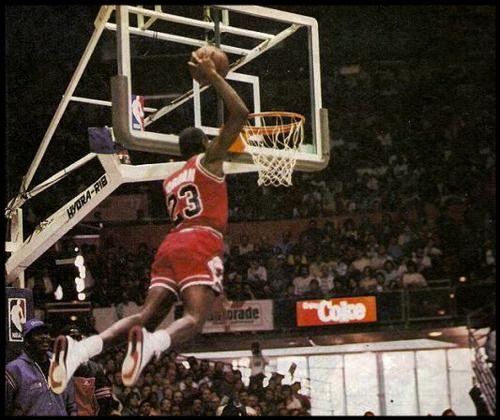 Michael Jordan - NBA - Dunk