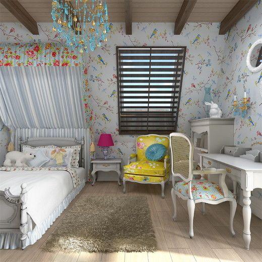 спальня в мансарде в стиле прованс: 20 тыс изображений найдено в Яндекс.Картинках