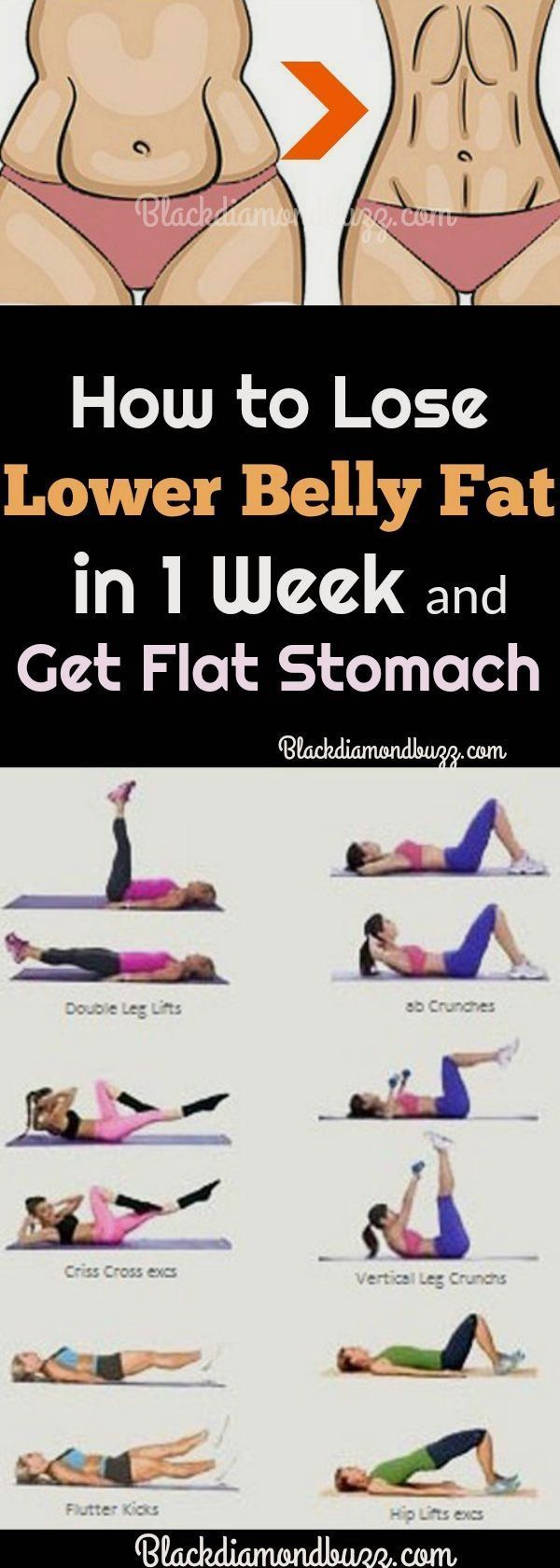 Do you want to know how to lose lower belly fat (pooch)? Then learn now best way...