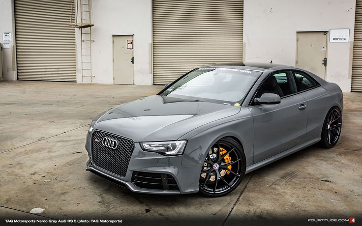 Nardo Gray Audi RS 5 by TAG Motorsports and HRE Wheels