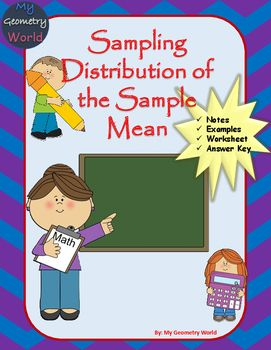 You will receive a worksheet as well as fill in the blank notes with the purchase of this resource. Students will practice the necessary skills of the sampling distribution of the sample mean to be successful in Statistics.