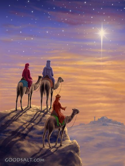Three Wise Men H - Christian Wall Art