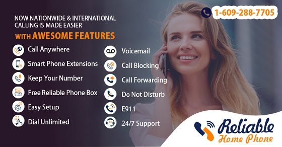 Start #enjoying ultra #low-#cost #Homephone #service with #Reliable. Get #unlimited #international calling #plans with crystal clear calls Contact us: Toll Free: +1-888-778-9335, www.reliablehomephone.com
