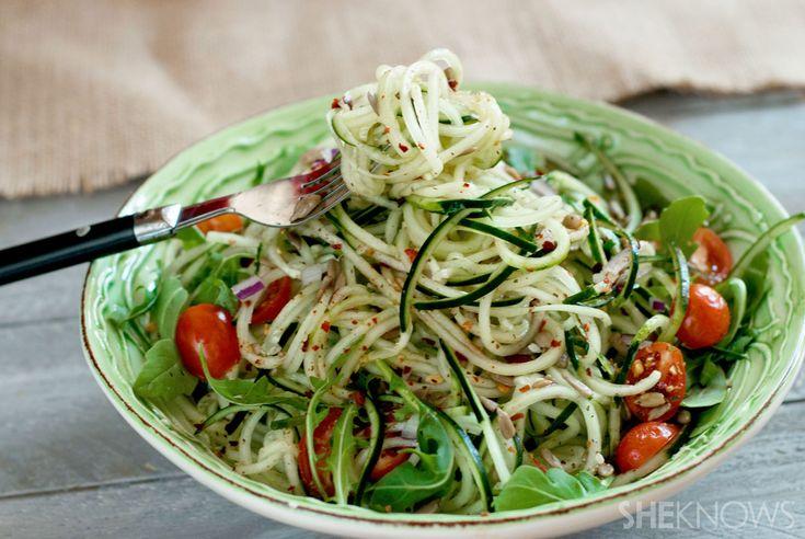 SCD Sweet & Spicy Cucumber Noodles (*Use red wine vinegar / honey options & fresh pressed garlic...)