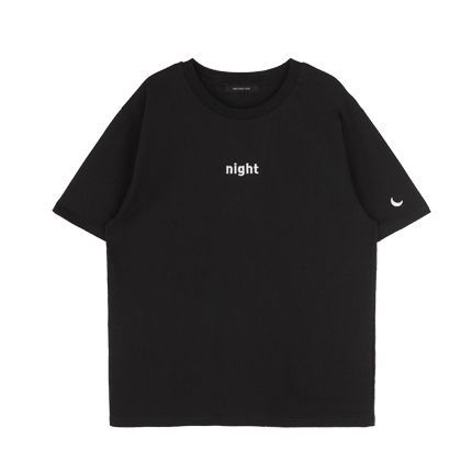 Day and Night Embroidered T-Shirt ( 2 colors) via Cloud 97. Click on the image to see more!