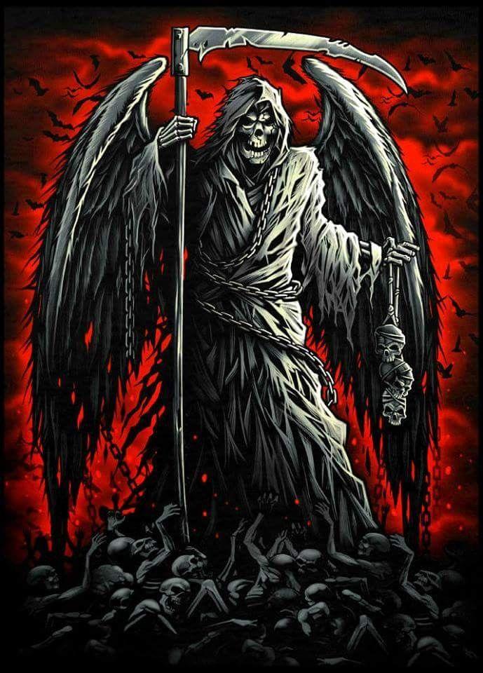 The Reapers Pit Reaper Tattoo Grim Reaper Art Grim Reaper Drawing