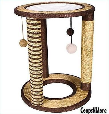 PLAYGROUND LOUNGE CAT SCRATCH POST GREAT COLOR FOR ALL DECOR SCRATCHING CONDO - BUY NOW ONLY 31.49