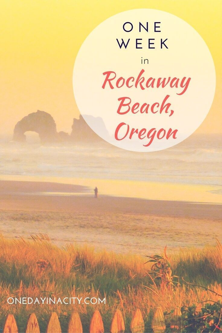 Rockaway Beach is the perfect Oregon coast