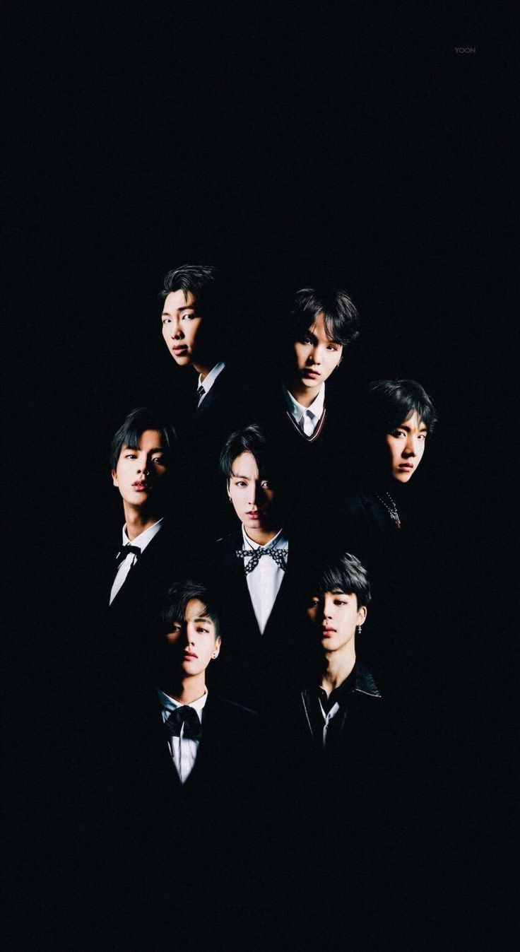 Black haired bangtan is what I live for