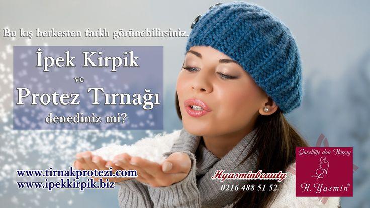 İpek Kirpik ve Protez TırnağıDenediniz mi?